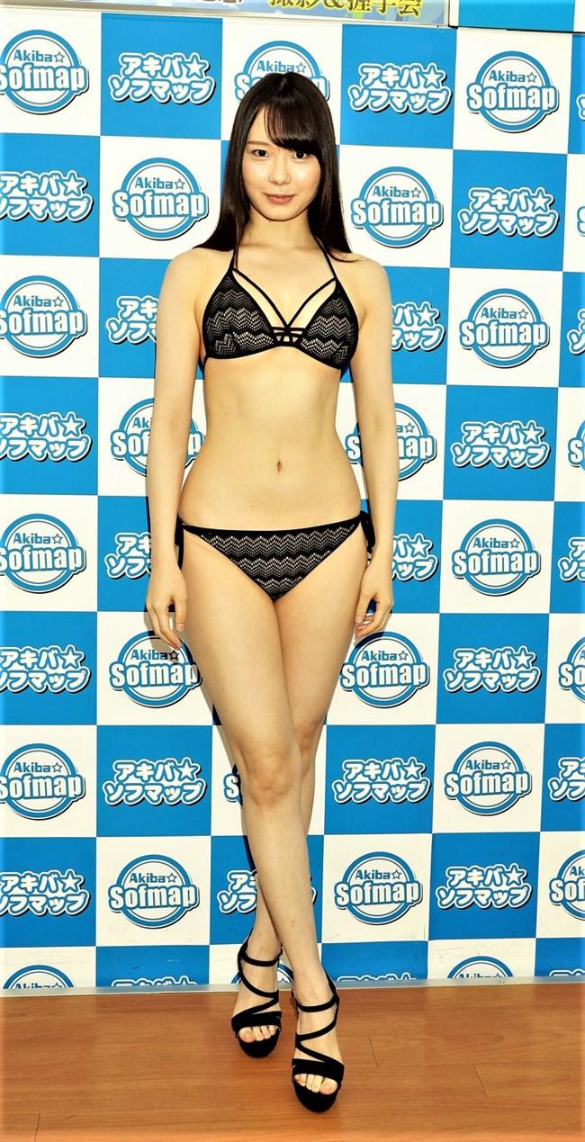佐野水柚~美人でスレンダーでありながらGカップバストの完璧水着グラビア!0011shikogin