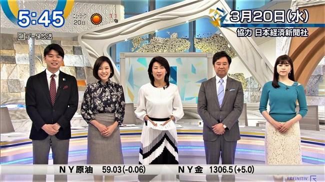 森山るり~Newsモーニングサテライトでのニット服姿がエロ美し過ぎると評判!0002shikogin