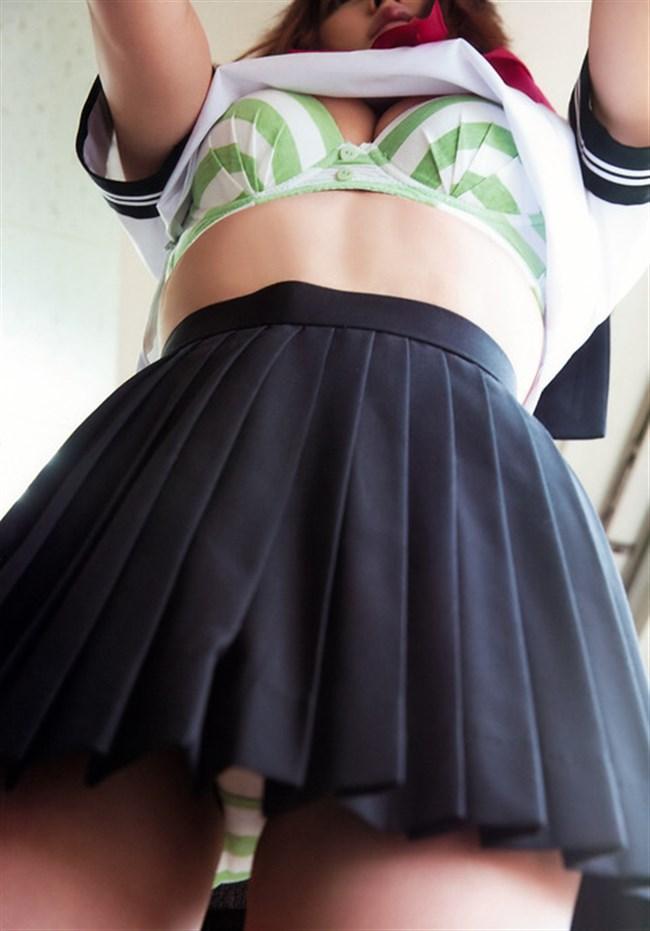 てんちむ(橋本甜歌)~人気YouTuberの制服にパンチラという挑発的なヌケるグラビア!0010shikogin