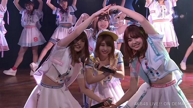佐藤七海[AKB48]~チーム8の5周年特別公演でオッパイ上半分出した大胆衣装が凄過ぎ!0007shikogin