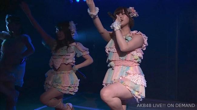 佐藤七海[AKB48]~チーム8の5周年特別公演でオッパイ上半分出した大胆衣装が凄過ぎ!0015shikogin