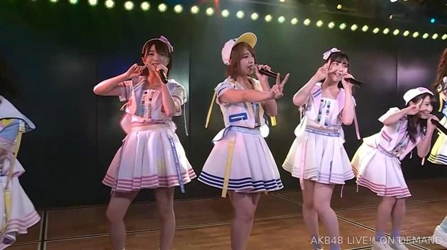 佐藤七海[AKB48]~チーム8の5周年特別公演でオッパイ上半分出した大胆衣装が凄過ぎ!0006shikogin