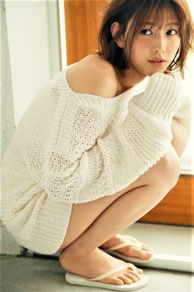 渡邉理佐[欅坂46]~白水着姿を含む1st写真集「無口」がベストセラーで売れ過ぎてる!0010shikogin