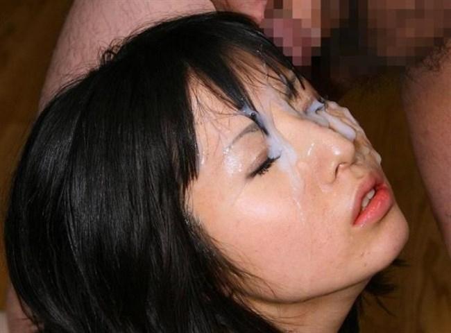 綺麗な顔を汚す罪悪感がまた溜まらない顔射画像まとめwww0020shikogin