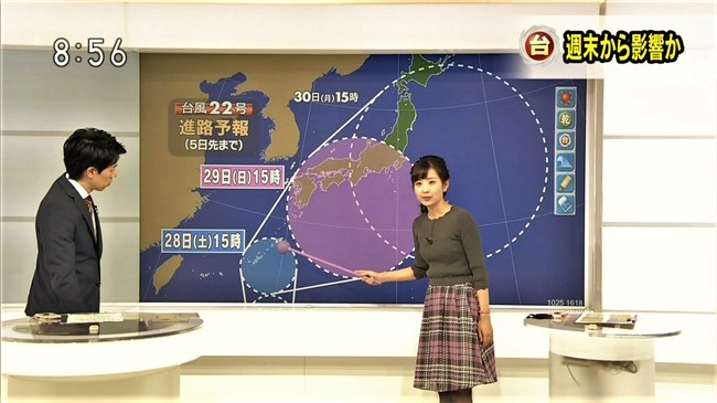 関口奈美~アイドル顔でDカップの横チチが凄いNHK天気コーナーのファンが急増中!0008shikogin