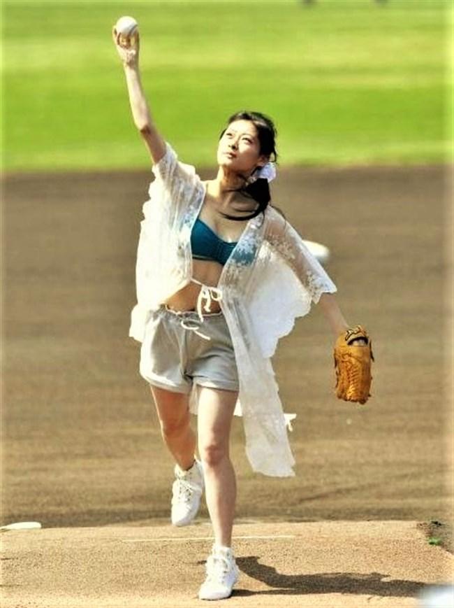 南衣伶夏~水着姿でのセンセーショナルな始球式で話題になった超美形アイドル!0011shikogin
