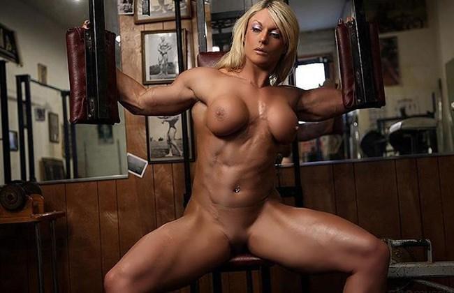 この外国人美女のマッスルボディで抜けるヤツはガチで上級者wwww0008shikogin