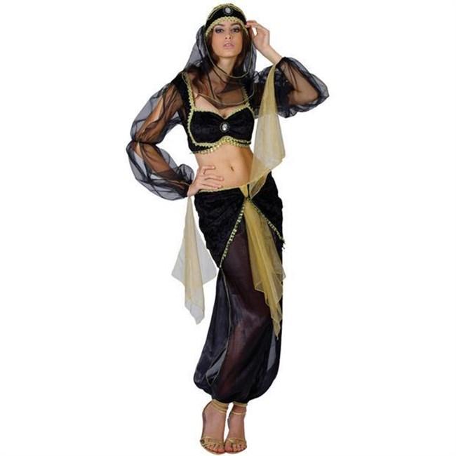 セクシーな民族衣装に身を包んだ外国人美女が抜けるwwwww0015shikogin