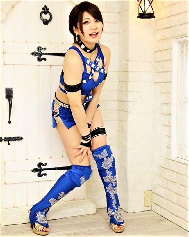 安納サオリ~美し過ぎる女子レスラーのピチピチコス姿とフライデー袋とじヌード!0003shikogin
