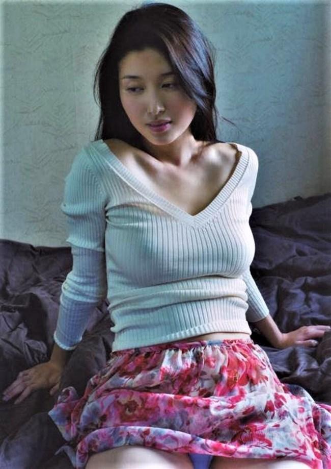 橋本マナミ~乳首ポチや乳輪や乳首が見えてしまっているグラビアフォトを一挙に!0007shikogin