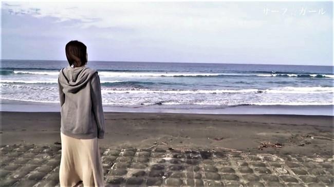 笹崎里菜~サーフ☆ガールでの透けブラとピッタリウェットスーツ姿が極エロで興奮!0002shikogin
