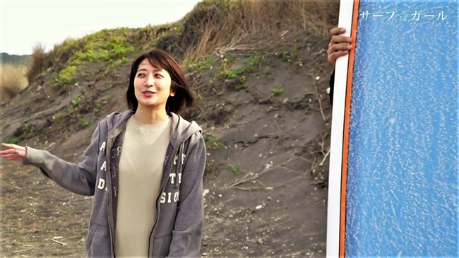 笹崎里菜~サーフ☆ガールでの透けブラとピッタリウェットスーツ姿が極エロで興奮!0010shikogin