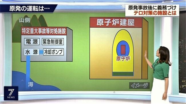 上原光紀~NHKニュース7にてニット服で窮屈そうに抑えつけられているオッパイ!0005shikogin