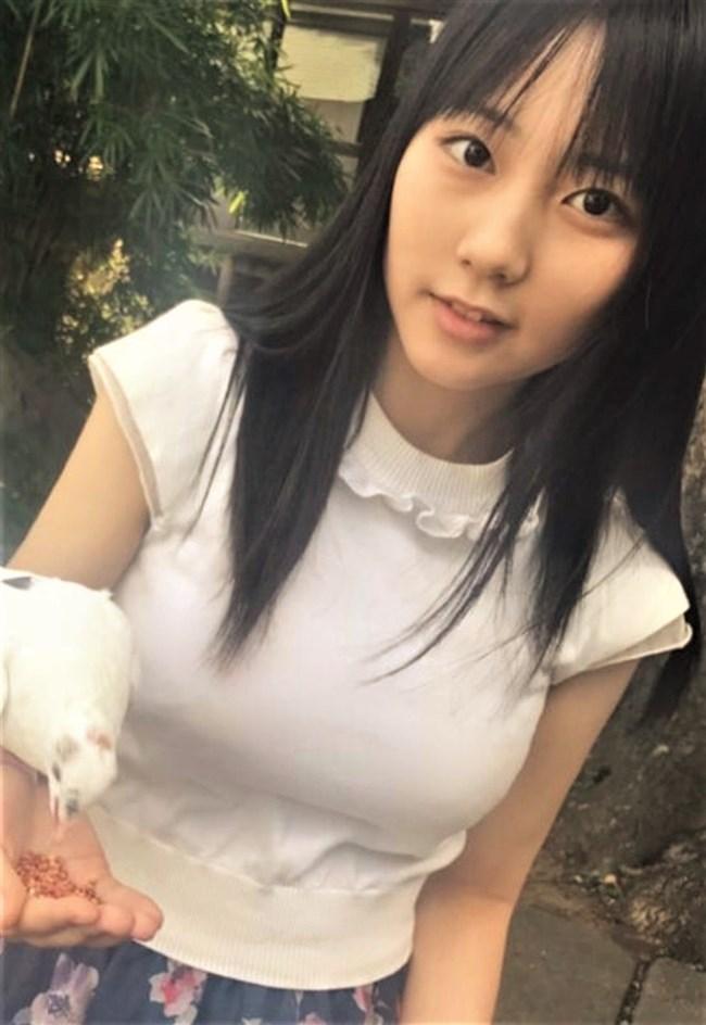 田中美久[HKT48]~細心のインスタやグラビアで形の良いオッパイを強調する過激売り込み!0009shikogin