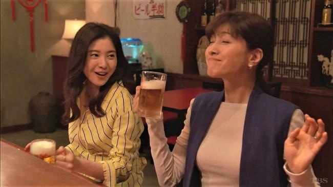内田有紀~わたし定時で帰ります。でのニット服姿の巨乳ぶりがエロくて超ドキ!0004shikogin