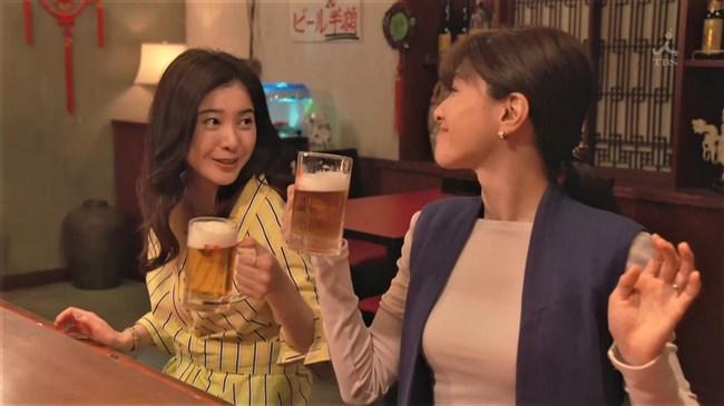 内田有紀~わたし定時で帰ります。でのニット服姿の巨乳ぶりがエロくて超ドキ!0005shikogin