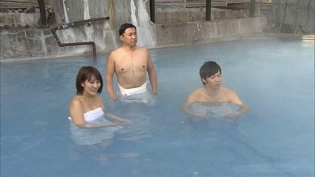 小村美記~首都圏ネットワークでのニット服の胸の膨らみが極エロ!温泉ロケも凄い!0005shikogin
