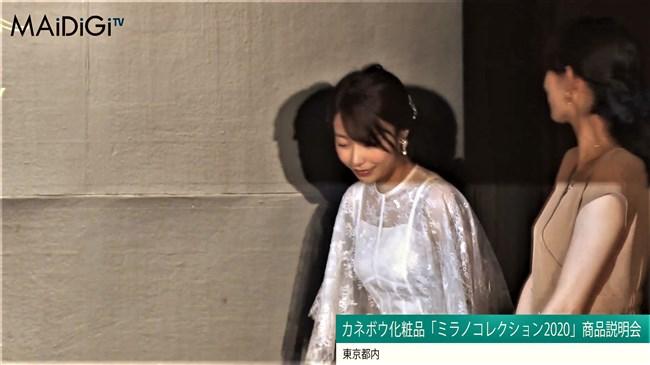 宇垣美里~ミラノコレクション2020商品説明会に透けドレスでエロさアピール!0002shikogin