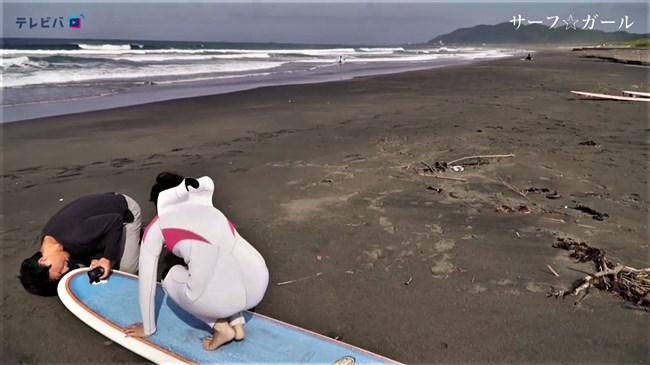 笹崎里菜~あまりにエロかったサーフ☆ガール第2弾はパンティーの形クッキリ編!0020shikogin