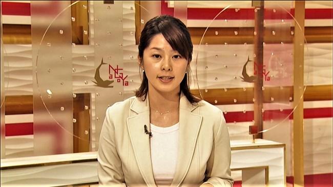 杉浦友紀~NHK名古屋局に勤務していた当時の初々しい姿でもオッパイはデカかった!0008shikogin