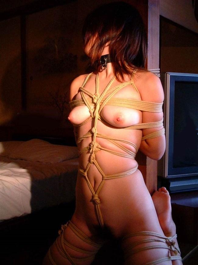 縄が肌に食い込む快感でおま〇こ濡らす…緊縛プレイに虜のドM女wwww0018shikogin