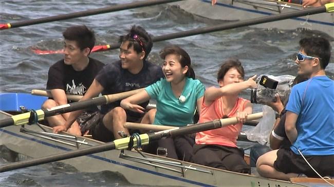 宇内梨沙~ボート競技を日比麻音子アナと巨乳を見せつけながら実践体験!0005shikogin