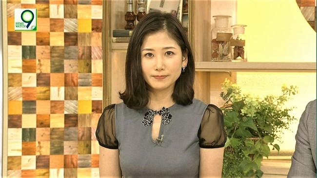 桑子真帆~ニュースウオッチ9で今までで一番オッパイが盛り上がってた日!0011shikogin
