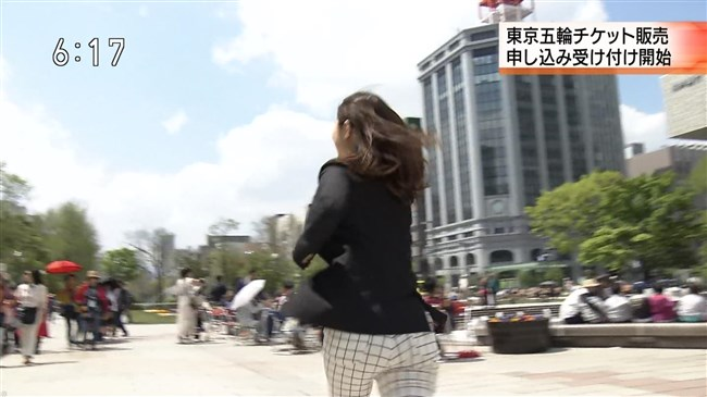 太細真弥~NHK函館放送局の巨尻美女アナが凄い!ピタパンが似合い過ぎ!0003shikogin