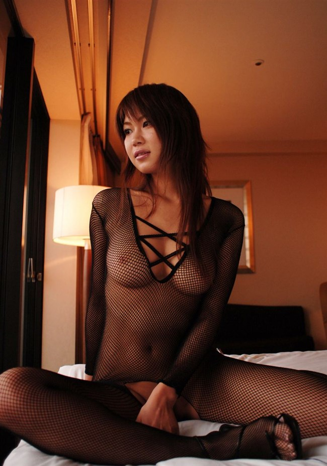 全身荒目の網タイツを包み込む姿は全裸ヌードよりもある意味えちえちwww0016shikogin