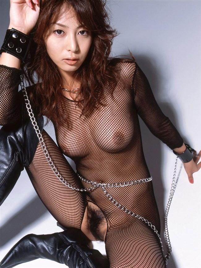 全身荒目の網タイツを包み込む姿は全裸ヌードよりもある意味えちえちwww0017shikogin
