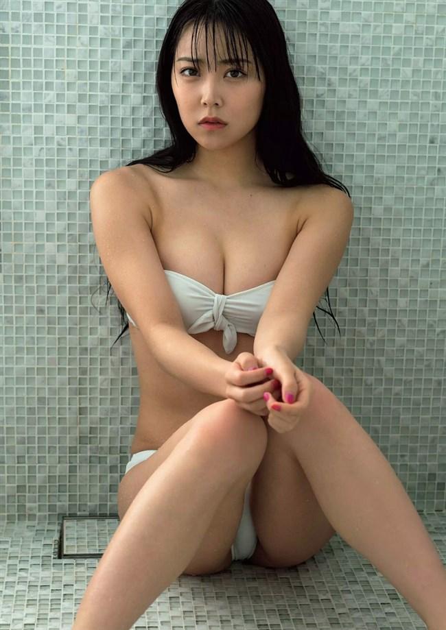 白間美瑠[NMB48]~みるるんのニプレス見え下着姿は家宝で何度観てもオナれるぞ!0012shikogin