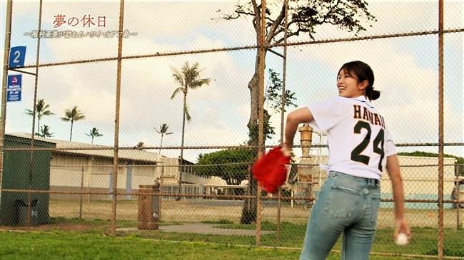 稲村亜美~BSフジのハワイロケ番組でムッチリボディーを強調してエロ過ぎ!0016shikogin