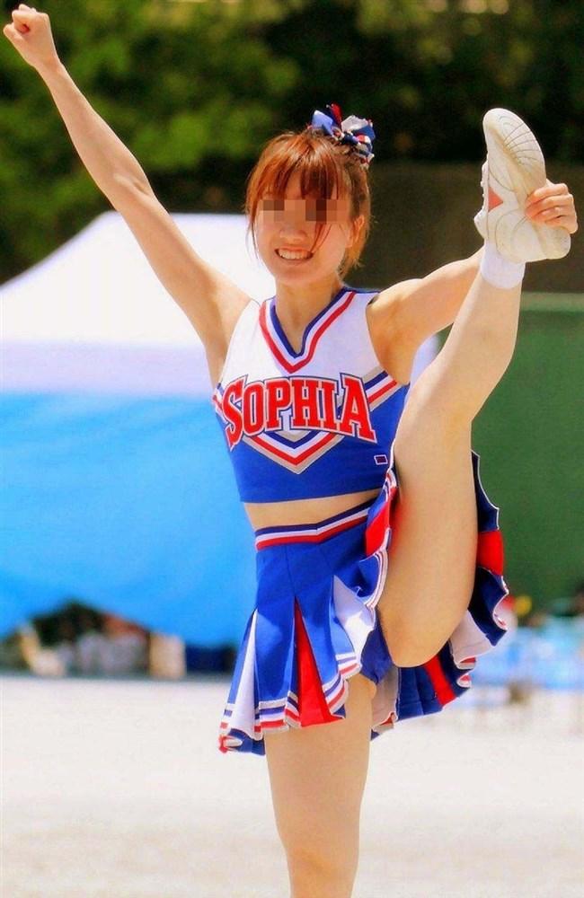 可愛い娘のチアリーデイングはダンスよりも下半身だけが気になってしまう法則wwww0003shikogin