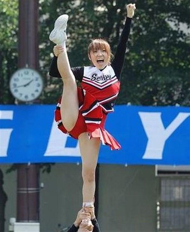 可愛い娘のチアリーデイングはダンスよりも下半身だけが気になってしまう法則wwww0012shikogin