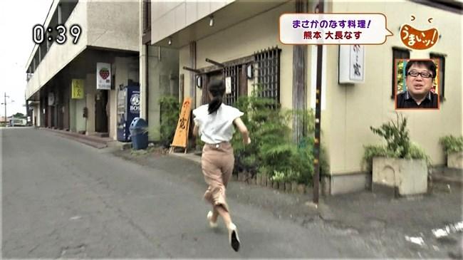 畠山衣美~NHK熊本の美人アナがムッチリヒップにパン線クッキリを見せた!0006shikogin