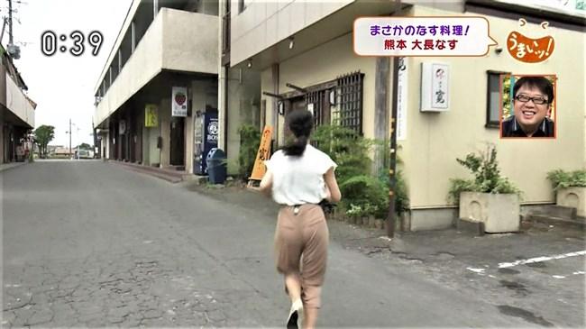 畠山衣美~NHK熊本の美人アナがムッチリヒップにパン線クッキリを見せた!0007shikogin