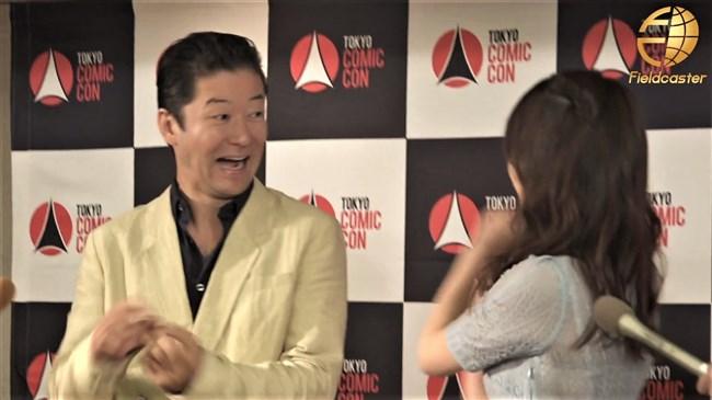 宇垣美里~東京コミコン2019にてレース系シースルーのセクシーワンピで登場!0010shikogin
