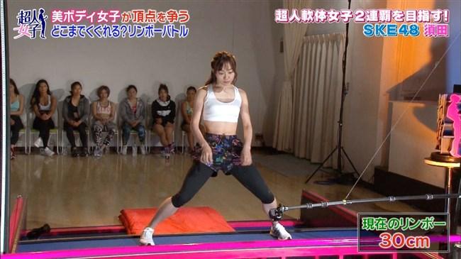 須田亜香里[SKE48]~日テレTHE MUSIC DAYで開脚し過ぎてまさかのマンチラ!?0011shikogin
