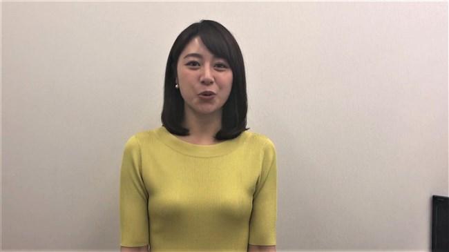 林美沙希~YouTubeアナぽけっとで柔らかそうなニット服オッパイをアップ!0009shikogin