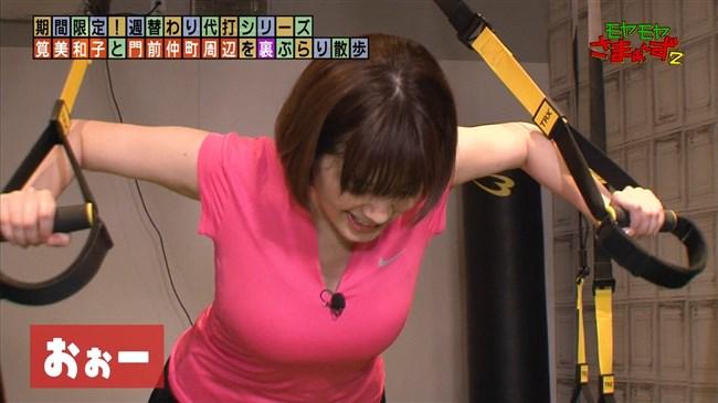 筧美和子~モヤモヤさまぁ~ず2代理アシスタントは爆乳を見せつけ挑発!0014shikogin