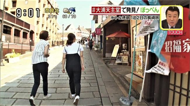 徳島えりか~水卜麻美アナとの長崎ふたり旅でムッチリヒップにクッキリとパン線が!0004shikogin