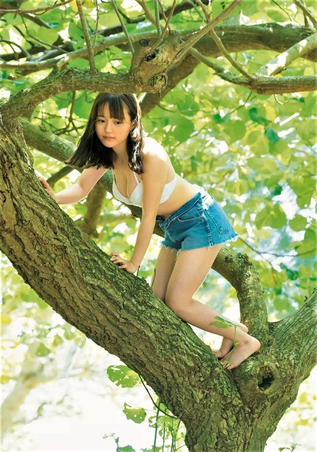 尾崎由香~週プレの最新グラビアは白水着の衝撃!声優なのにエロボディー過ぎる!0005shikogin