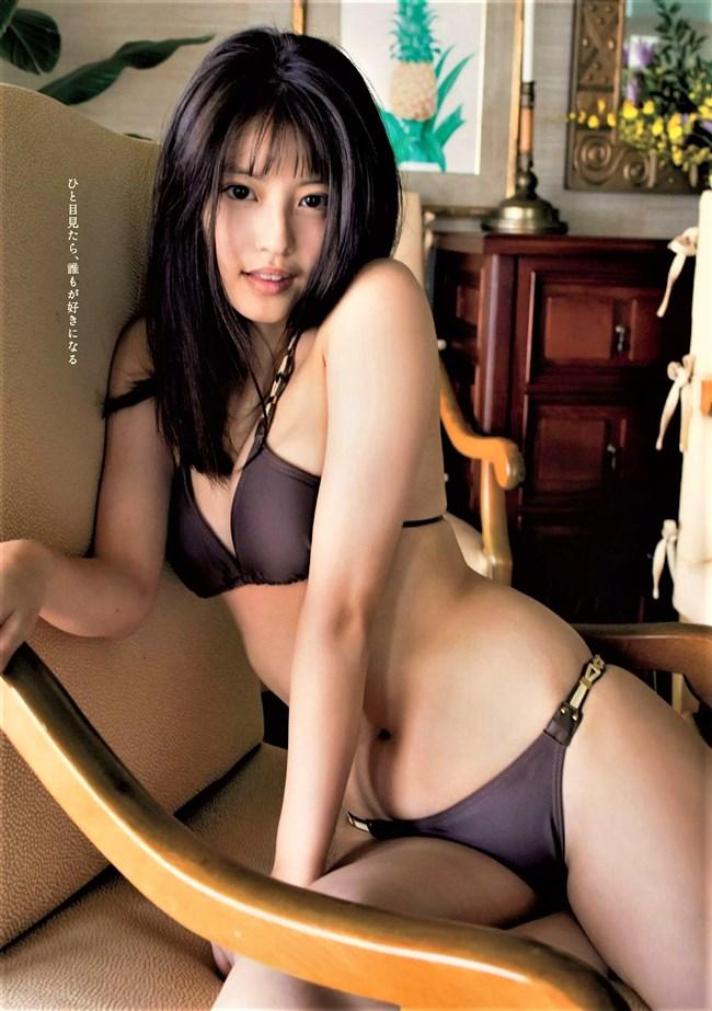 今田美桜~週プレの1st写真集の先行フォトとなる水着グラビアがエロ可愛過ぎ!0006shikogin