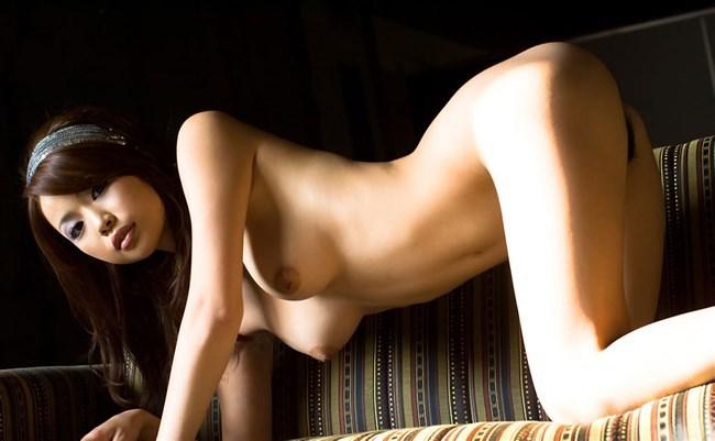 四つん這いで垂れさがった巨乳が実に柔らかそうな四つん這いヌードwww0022shikogin