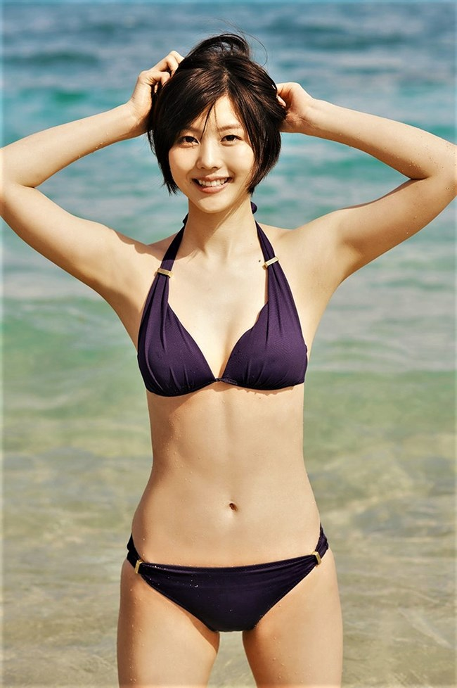 松田紗和~週プレの水着グラビアが完璧過ぎ!こんなイイ女を見逃すなよ!0009shikogin