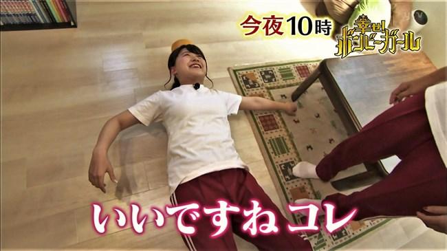 尾崎里紗~幸せボンビーガールの部活めし企画でムッチリボディーの運動着姿を披露!0012shikogin