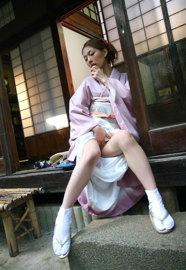 日本の着物、浴衣と女体ヌードは相性最高wwwwwww0014shikogin