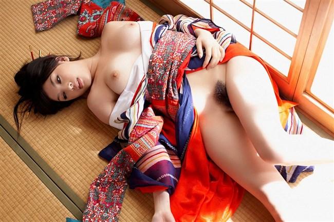 日本の着物、浴衣と女体ヌードは相性最高wwwwwww0021shikogin