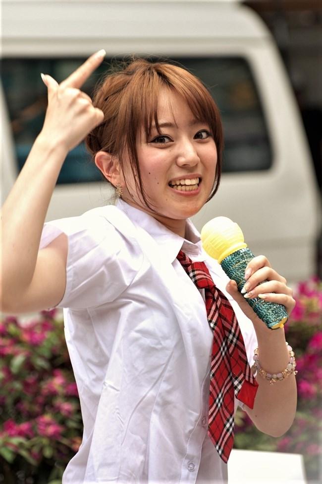 宇野名都美~チアガールのコスチュームで見せパン全開で脚を上げましたが生ハミパン!0003shikogin