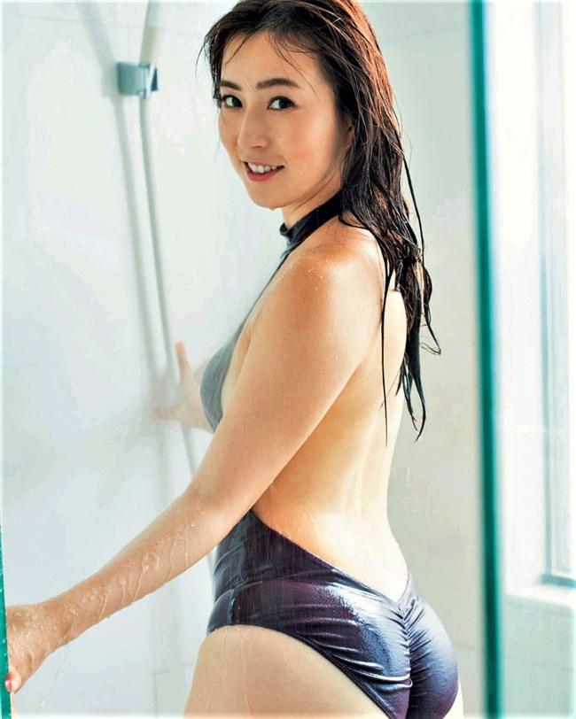 薄井しお里~元女子アナの超エロい最新の水着&下着グラビアはオナネタとして極上!0007shikogin